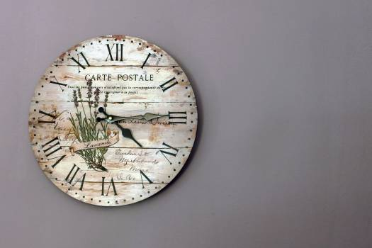 Vintage Wall Clock - free stock photo #400172
