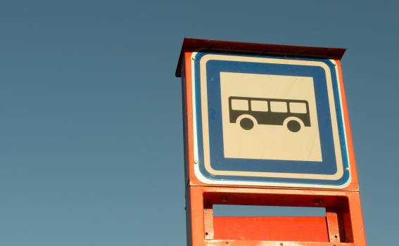 Bus Stop - free stock photo Free Photo