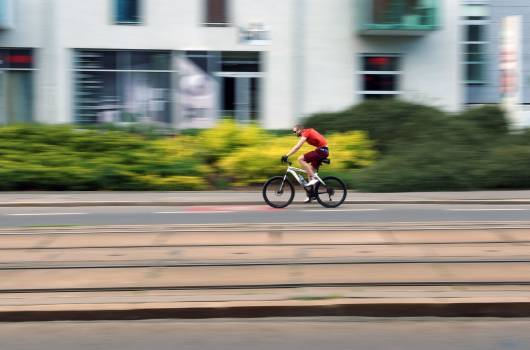 Cyclist - free stock photo Free Photo