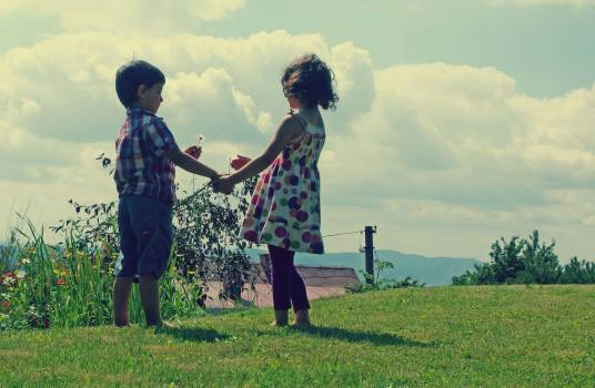 Childhood Friends - free stock photo #400224