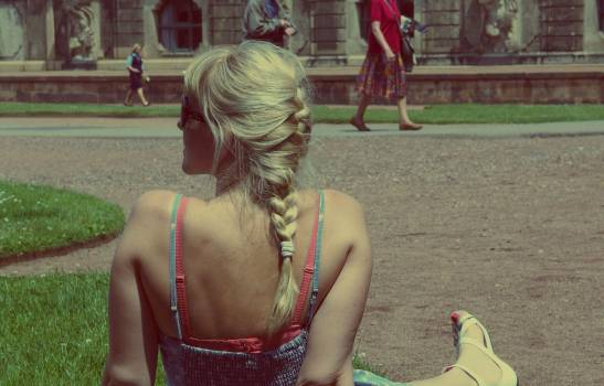 Blonde Girl – Woman - free stock photo #400237