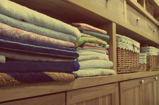 Towels in Bathroom - free stock photo Free Photo