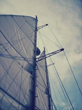 Sails and Mast - free stock photo #400300