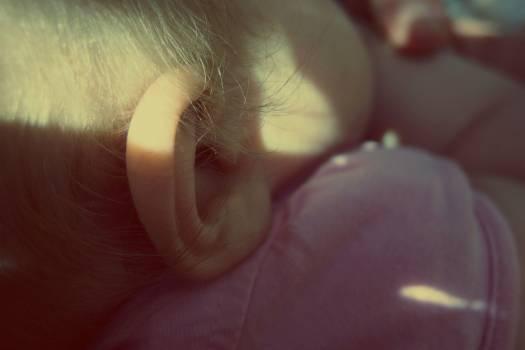 Baby Ear - free stock photo #400320