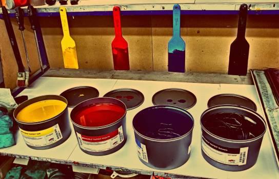 CMYK Colors - free stock photo #400332