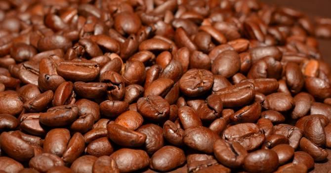 Caffeine coffee close roasted #40039
