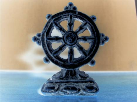 Buddhist Wheel - free stock photo #400464