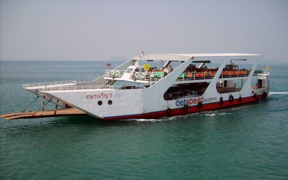 Small Ferry In Thailand - free stock photo #400504