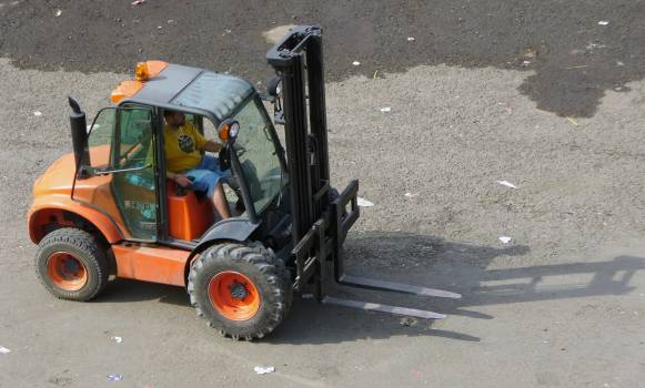 Forklift - free stock photo #400605