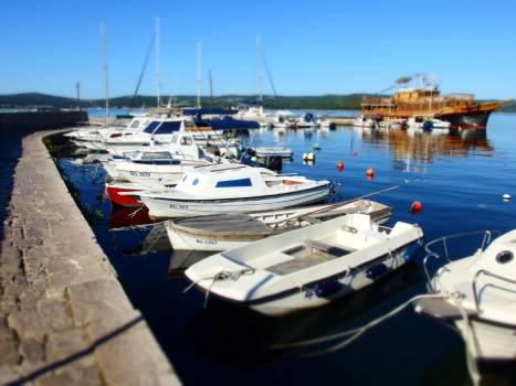 Boats in Harbor - free stock photo Free Photo