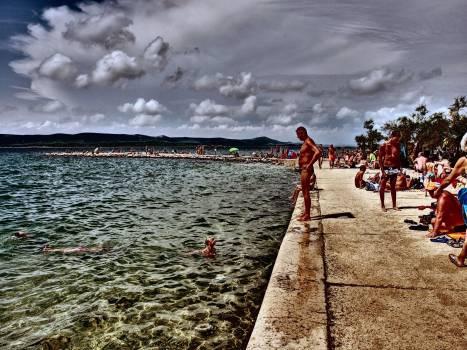 Beach in Sveti Filip i Jakov - free stock photo Free Photo