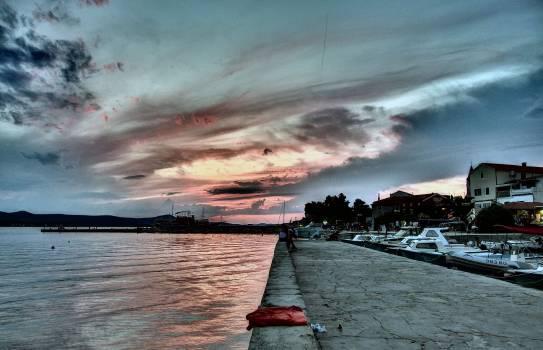 City Seafront in Croatia - free stock photo #400648