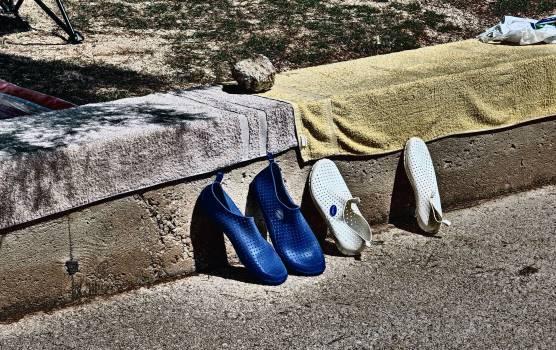 Beach Shoes - free stock photo #400684