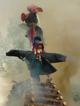 Burning Witches - free stock photo Free Photo