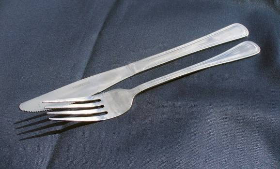 Knife and Fork - free stock photo #400713
