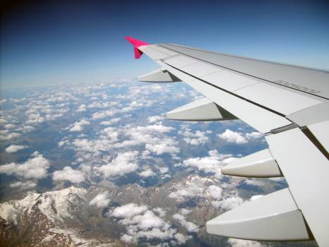 View from Plane Window - free stock photo #400764