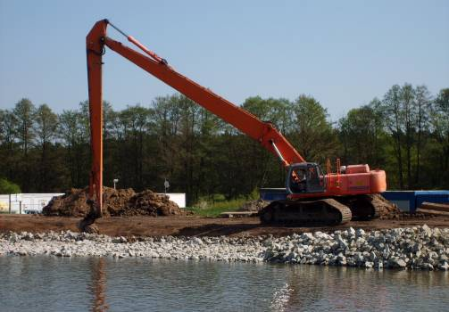 River dredging - free stock photo #400834