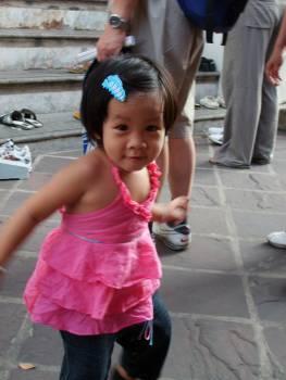Baby girl in Bangkok - free stock photo #400895