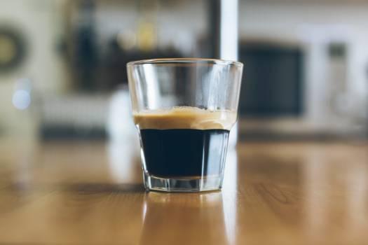 Glass of espresso coffee #40090