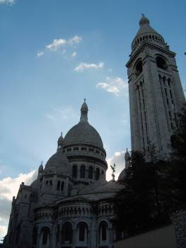 Sacre Coeur in Paris - free stock photo #400917