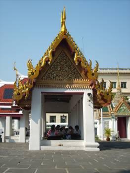 Students in Grand Palace – Bangkok - free stock photo Free Photo