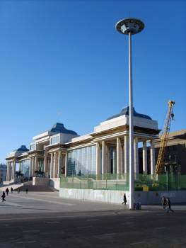 New government palace in Ulaanbaatar - free stock photo #400957