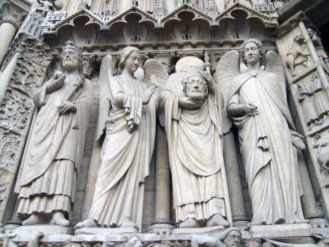 Detail of Notre Dame - free stock photo #400972