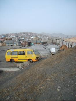 The suburb of Ulaanbaatar, Mongolia. - free stock photo #401048