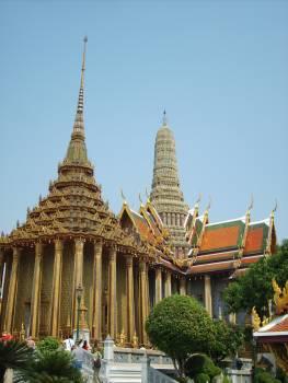 Phra Mondop – Temple of the Emerald Buddha - free stock photo Free Photo