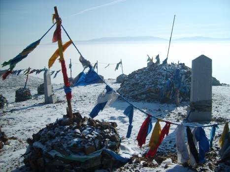 Sacred place in Mongolia - free stock photo #401123