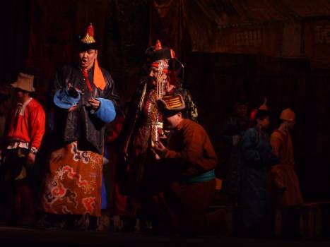 Modern mongolian opera in Ulaanbaatar - free stock photo Free Photo