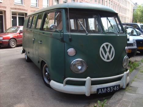 VolksWagen Bus Type 2 Van Car - free stock photo #401163