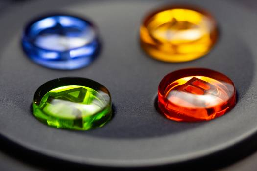 Game Controller Buttons Free Photo #401208