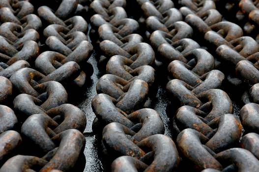 Abstract Rusty Chain Free Photo #401224