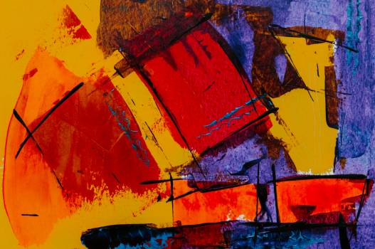 Colorful Abstract Painting Free Photo #401250