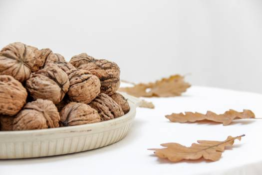 Walnuts on Table Free Photo #401255
