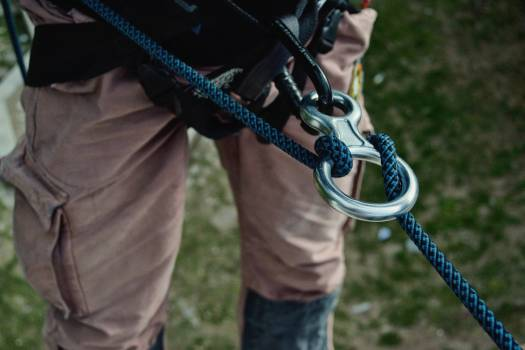 Rappelling 8 Free Photo