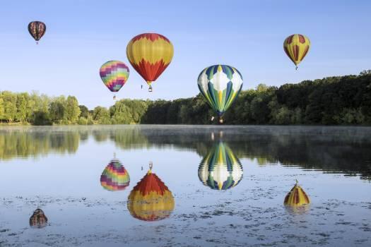 Hot Air Balloons Free Photo #401300