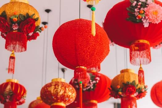 Chinese Lanterns Free Photo Free Photo