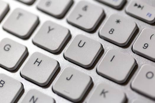 White Keyboard Free Photo #401362