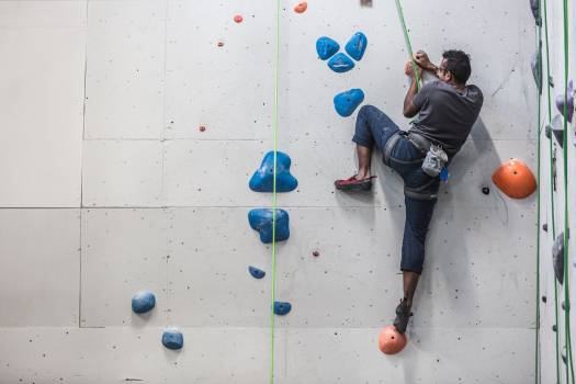 Rock Climbing Wall Free Photo #401479