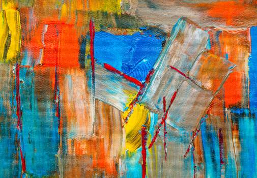 Colorful Abstract Painting Free Photo #401503