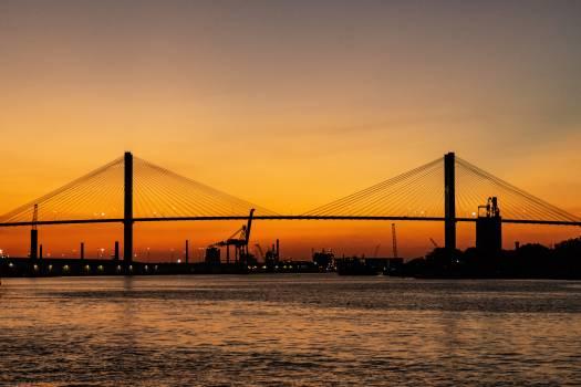 Sunset Bridge Free Photo #401505