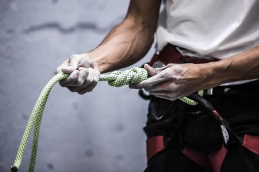 Rock Climber Ropes Free Photo #401540