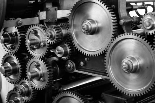 Industrial Gears Free Photo #401559
