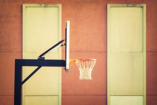 Outdoor Basketball Hoop Free Photo #401585