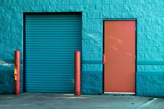 Exterior Industrial Doors Free Photo #401586