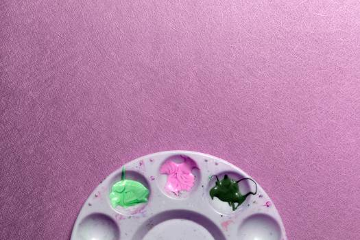 Paint Tray Palette Free Photo #401612