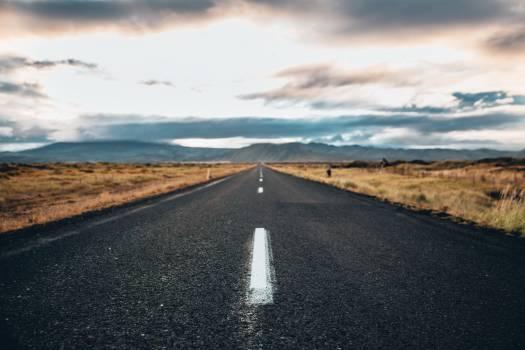 Straight Highway Travel Free Photo #401639