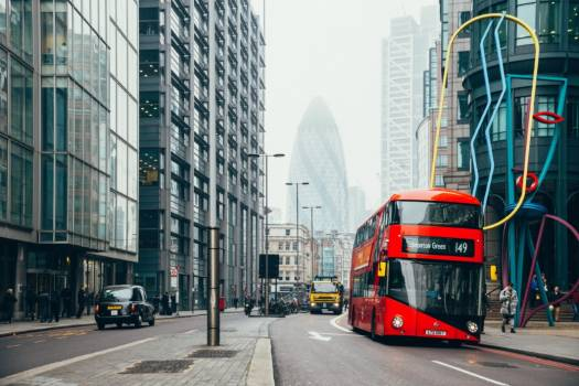 Red Double Decker Bus Free Photo #401700